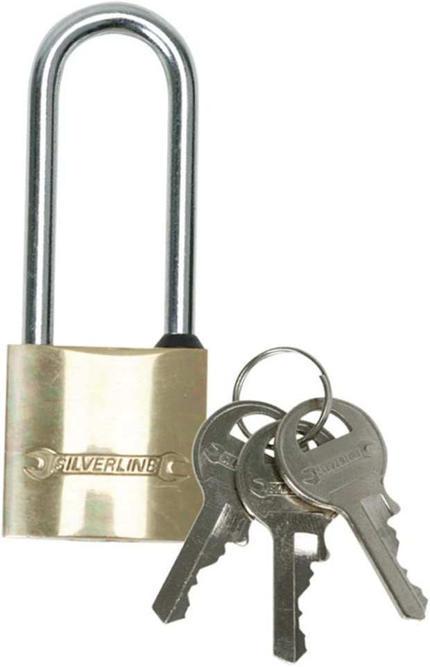 Laiton Cadenas serrure pour bagages Gym lockers sacs 30 mm//40 mm//50 mm