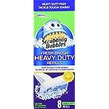 Scrubbing Bubbles Fresh Brush Heavy Duty 8 count (2 Pack)