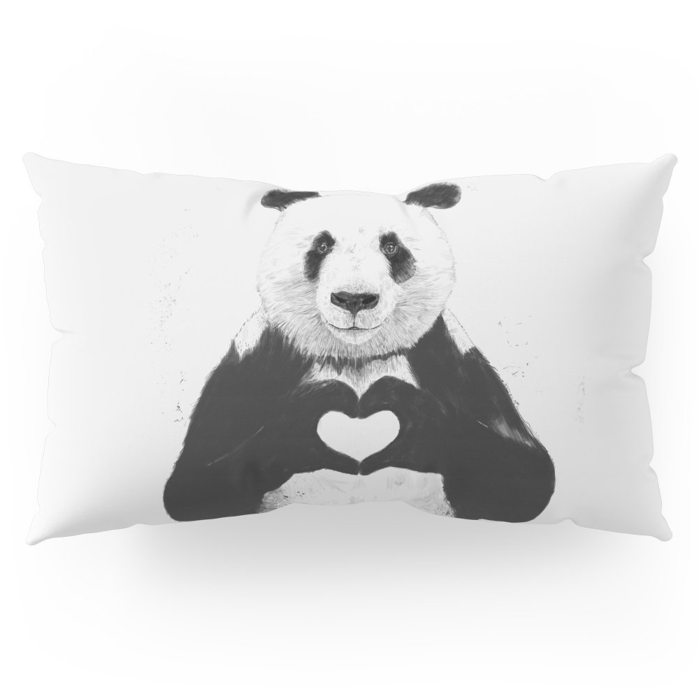 Society6 All You Need Is Love Pillow Sham King (20'' x 36'') Set of 2