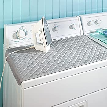 WOPOW® Ironing Blanket, Quilted Washer Dryer Heat Resistant Pad With  Double Side Using