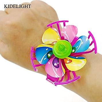 Amazon Com 10pcs Kids Happy Birthday Party Gift Fake Windmill Watch
