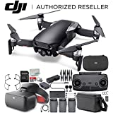 DJI Mavic Air Drone Quadcopter FLY MORE COMBO (Onyx Black) + DJI Goggles (Racing Edition) Virtual Reality VR FPV POV Experience Starters Bundle