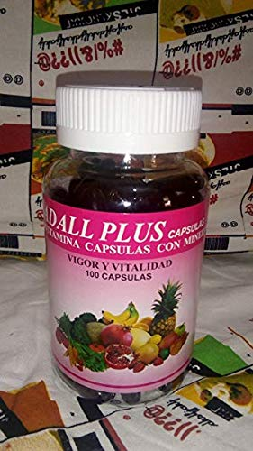 Adall Plus Multivitaminas Capsulas Con Minerales, Vigor and Vitality
