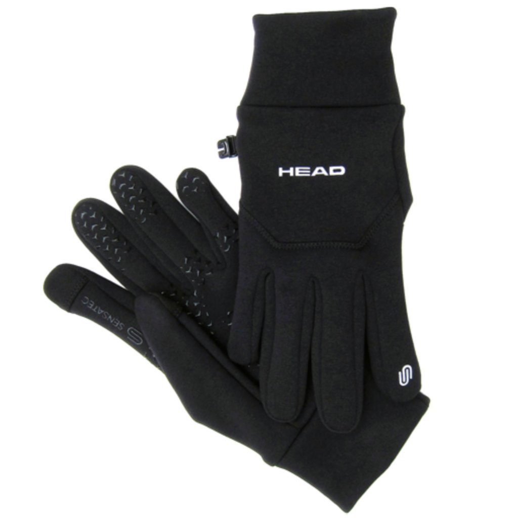 ヘッドmulti-sport Gloves with Sensatec B008XRQ5EC Small|ブラック ブラック Small