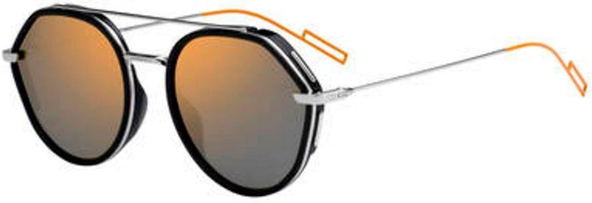 d0052b16e1b Amazon.com  New Christian Dior Homme 0219S 0CSA 83 Black Palladium  Sunglasses  Clothing