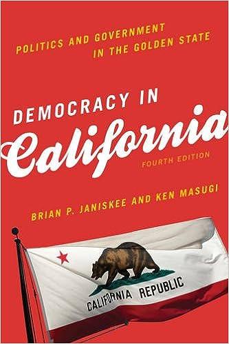 Democracy in california politics and government in the golden state democracy in california politics and government in the golden state fourth edition fandeluxe Gallery