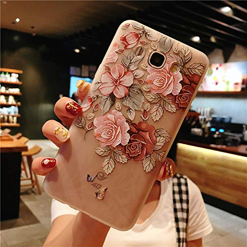 Maxlight Flower Phone Case for Samsung Galaxy S9 S8 Plus Series Note 9 8 Clear Soft TPU Cover Cases (B, for Galaxy S8 Plus) (Samsung Note 3 Neo Best Price)