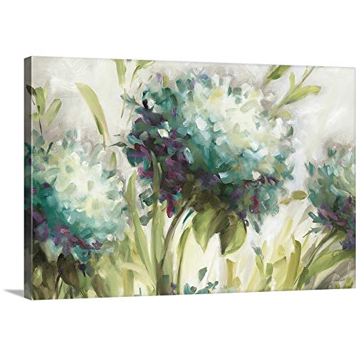 Lisa Audit Premium Thick-Wrap Canvas Wall Art Print Entitled Hydrangea Field 36