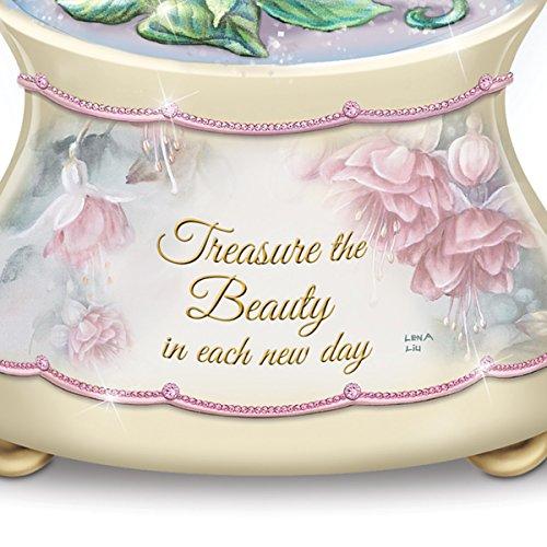 Lena Liu Beautiful Treasures Musical Glitter Globe:by The Bradford Exchange by Bradford Exchange (Image #2)