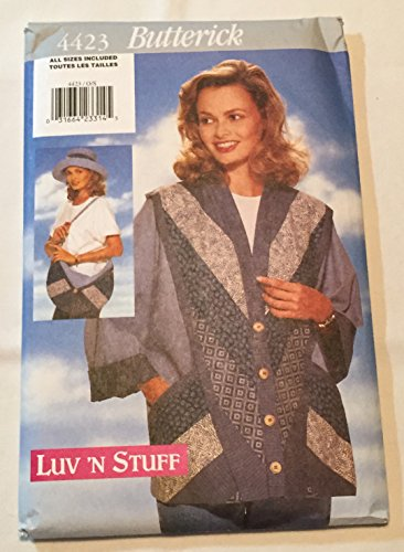 Hat, Purse, & Jacket All Sizes - Butterick 4423 ()