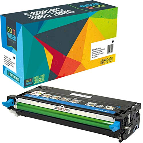 (Do it Wiser Compatible Toner Cartridge Replacement for Dell 3110cn 3115cn 3110 3115 | 310-8094 - High Yield 8,000 Pages (Cyan))