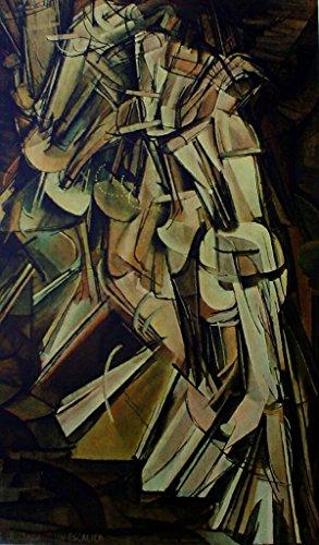 Marcel Duchamp Nude Descending A Staircase No 2 1912 Collotype, French: Nu descendant un escalier n 2