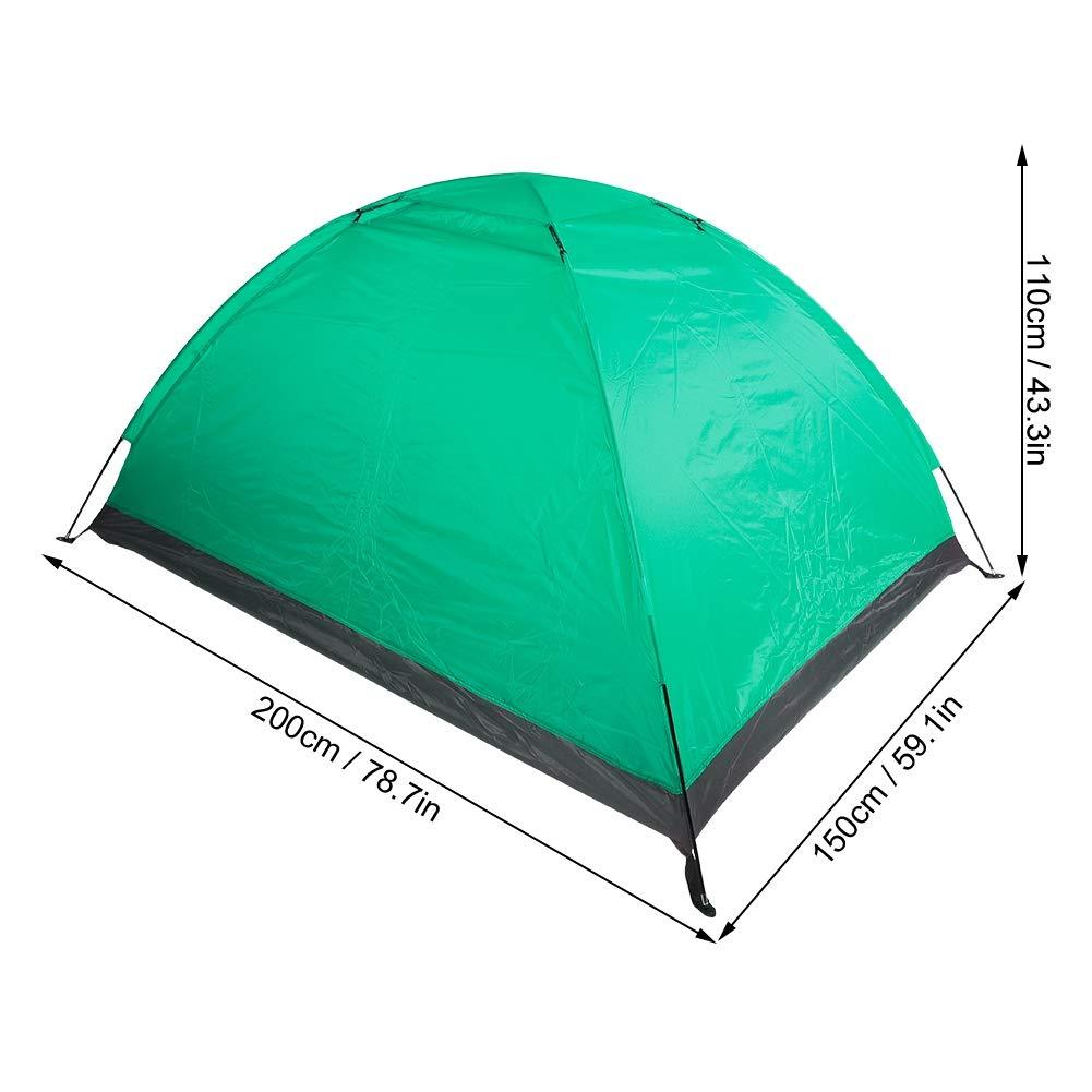 a Prueba de Viento y Resistente al Agua Anti-Mosquitos Tienda de Dos Personas para Acampar Senderismo Mochilero instalaci/ón r/ápida.