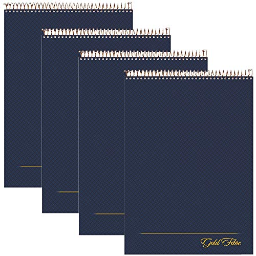 AMPAD Gold Fibre Project Planner, Top-Wire Bound, 8-1/2