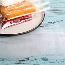 Clear Ice Pop/Candy Plastic Bags Food Grade Hot Sealing Packing Containers 4.7*7.5 Inch 200 Pcs