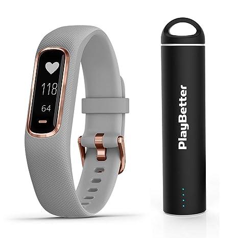 Amazon.com: Garmin vivosmart 4 Smart Activity Tracker Gift ...