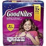 Goodnites Bedtime Underwear 24 CT (Pack of 3)