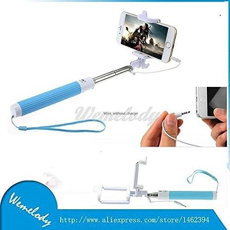 ARBUYSHOP Moda plegable cable atado con alambre selfie ...