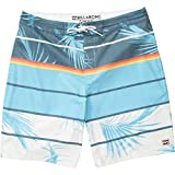 Billabong Big Boys' Lo Tide Stretch Boardshorts, Blue Spinner, 29
