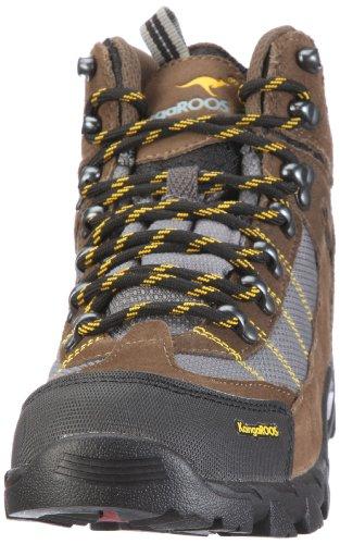 KangaROOS Crevice 71726 Herren Sportschuhe - Outdoor Braun/stone/md.grey/yellow
