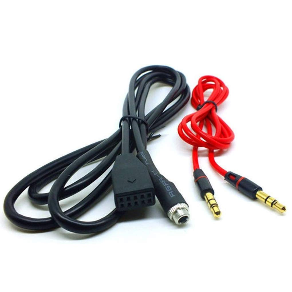 Mengonee Carro Adaptador de Interfaz de m/úsica MP3 Cable Car Audio AUX DE 3,5 mm para BMW E39 E53 E46 X5 Coche-Styling