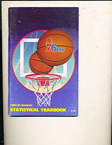1980-1981 Philadelphia 76ers NBA Media Press Guide nbag2 ()