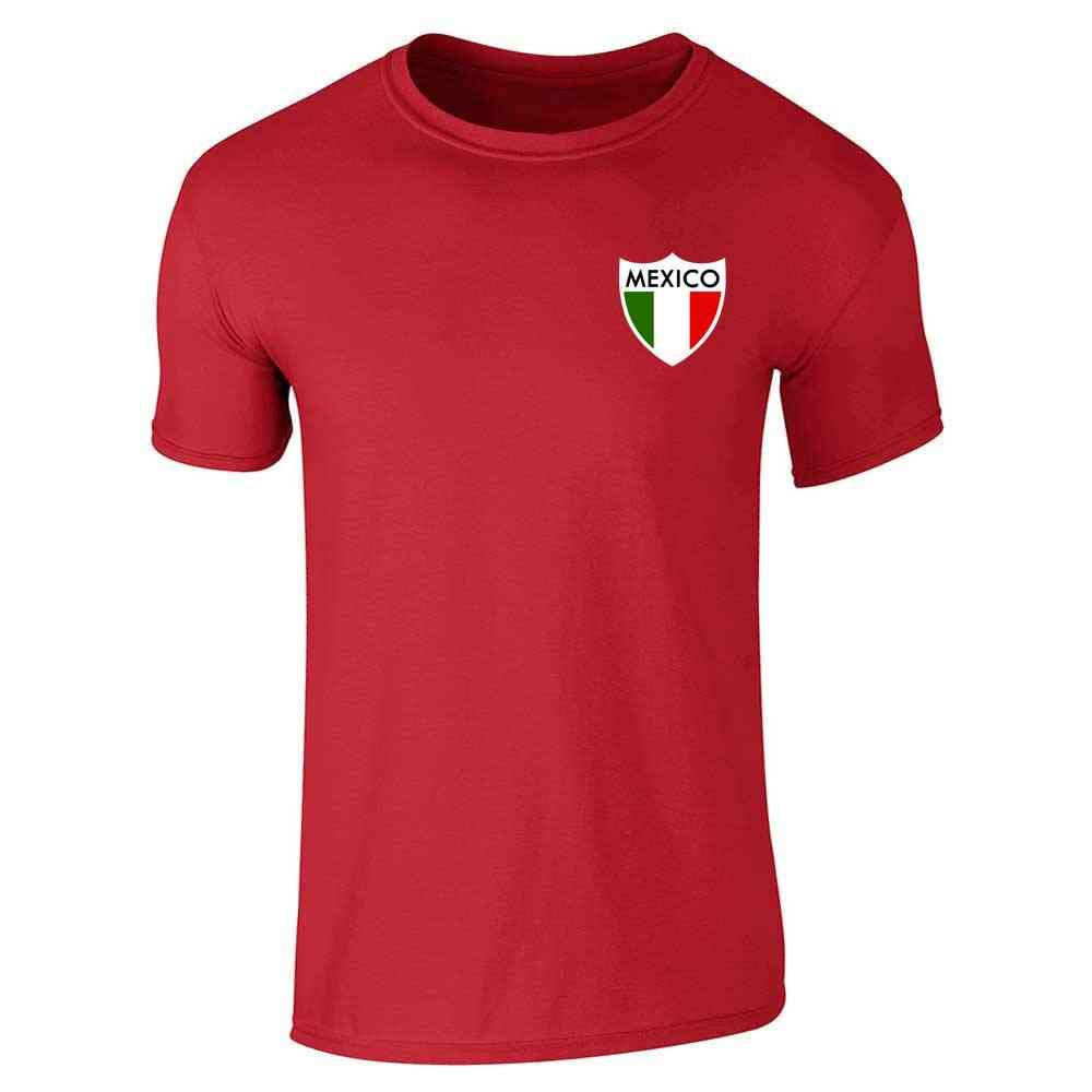 96cf7a5fe Amazon.com  Mexico Futbol Soccer Retro National Team Football Short Sleeve T -Shirt  Clothing