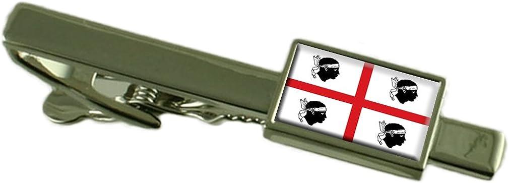 Select Gifts Sardinia Region Italy Flag Tie Clip
