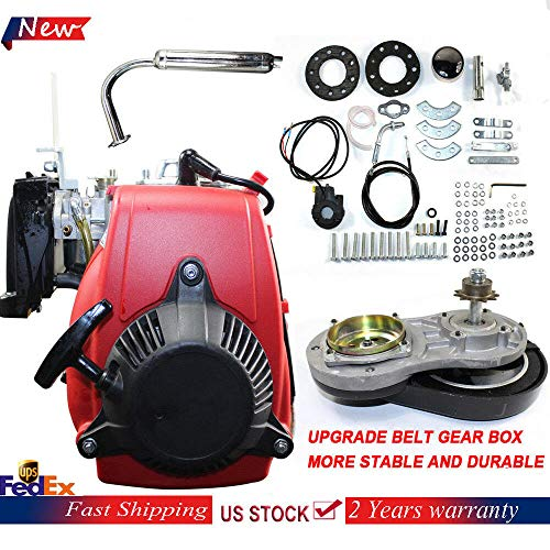 4-Stroke 2.1HP 49CC Gas Petrol Motorized Bicycle Scooter Bike Engine Motor Kit