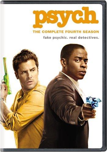 DVD : Psych: Season 4
