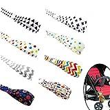 Baby Toys Strap Bottle Strap Protable PP Anti Drop Toys Adjustable Strap Clip Belt Holders (8 Pcs)