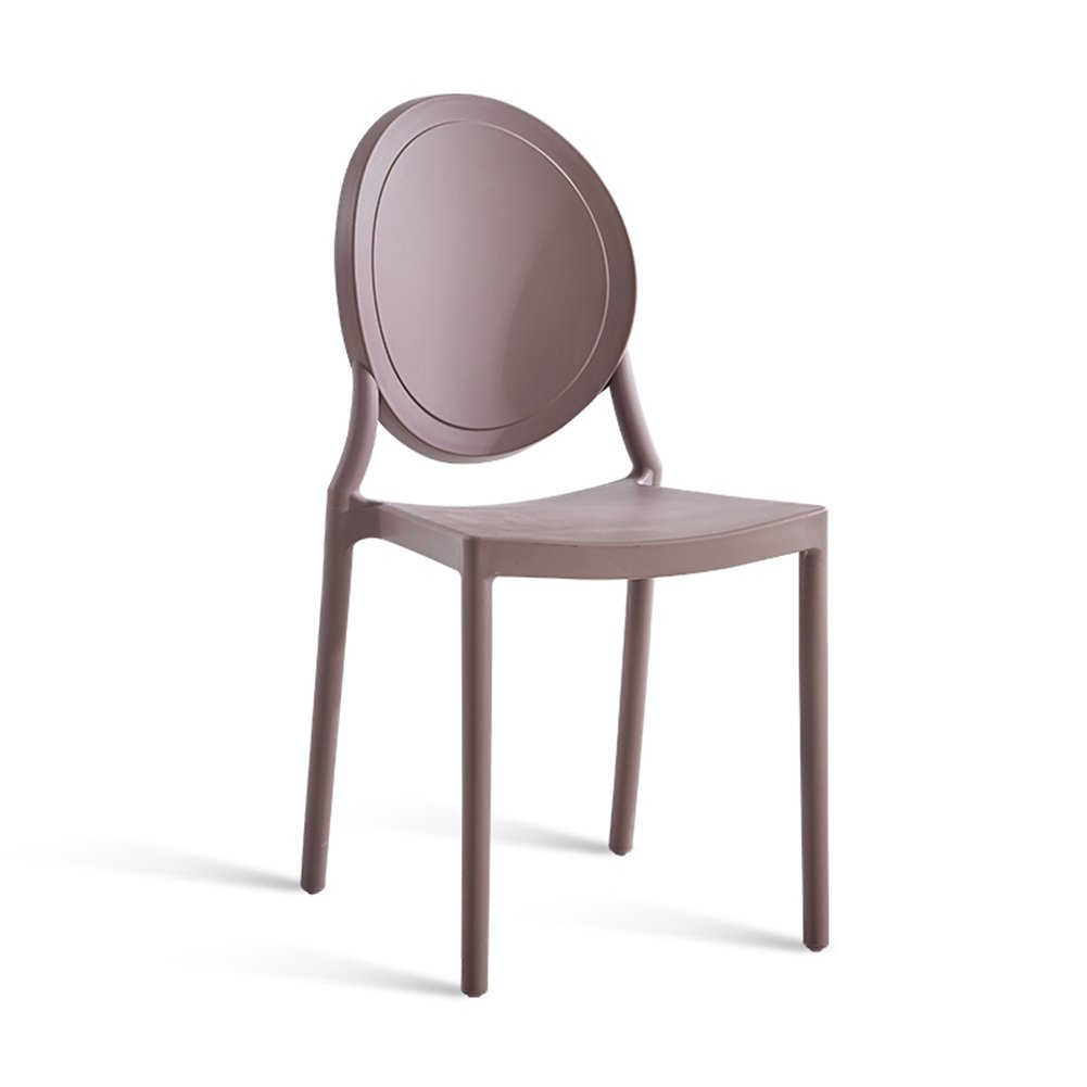ダイニングチェア チェア Chair ッション バックレスト家庭用アダルト北欧カジュアル創造プラスチック TINGTING (色 : Brown, サイズ さいず : 86*41*46cm) B07F6C93P5Brown 86*41*46cm