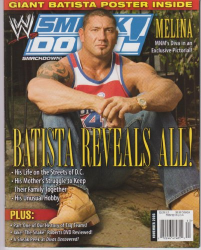 WWE Smackdown Magazine November ()