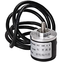 Signswise 360p/r Incremental Rotary Encoder Dc5-24v Wide Voltage Power Supply 6mm Shaft