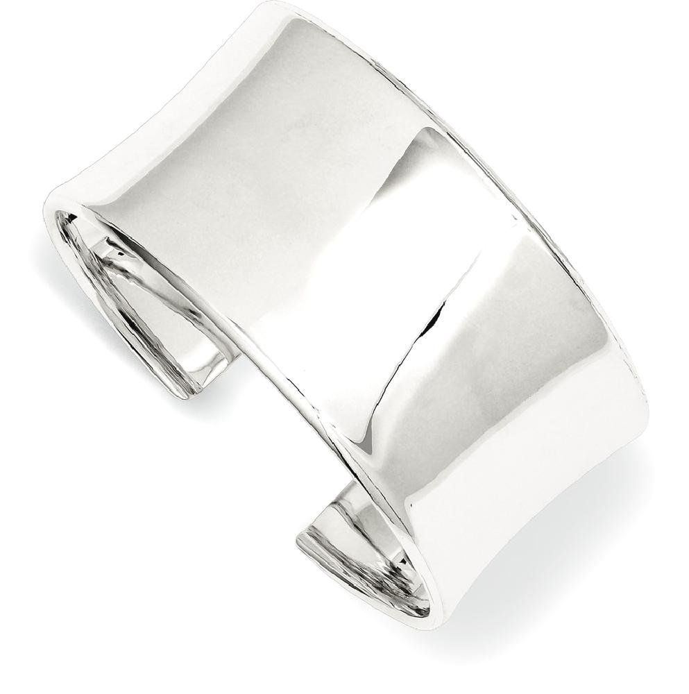 ICE CARATS 925 Sterling Silver 30mm Cuff Bangle Bracelet Expandable Stackable Fine Jewelry Gift Set For Women Heart
