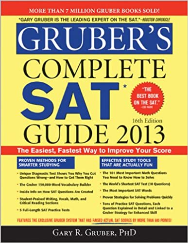 Amazon com: Gruber's Complete SAT Guide 2013 (9781402264924): Gary