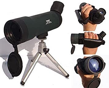 20x50 zoom hd monocular outdoor telescope with portable tripod night