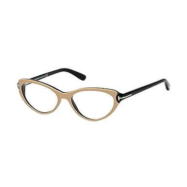 faafe729a9 TOM FORD FT5285 Eyeglasses Frame Black Pink (074) TF 5285 074 53mm ...