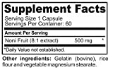 Noni 500mg Superfood Herbal Immune Support 60