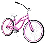 Zycle Fix Women's Classic Lady Pinky Beach Cruiser For Sale