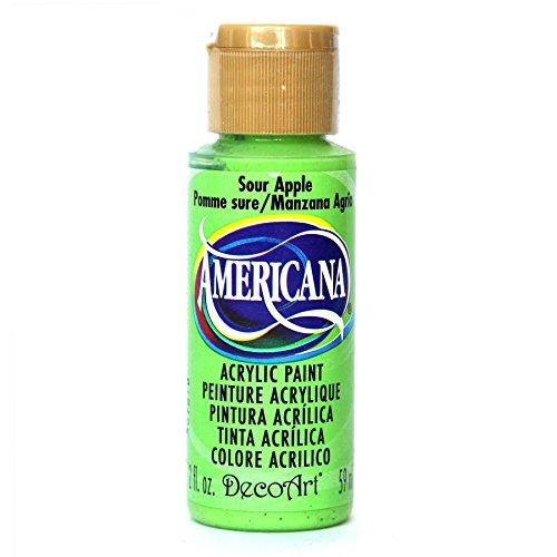 DecoArt Americana Acrylic Paint, 2-Ounce, Sour Apple