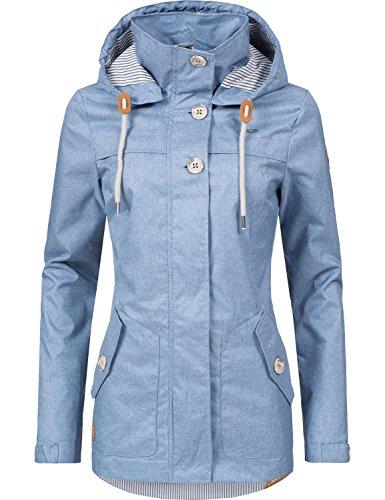 Claro Chaqueta Azul para Ragwear Mujer tI8Xw8xqd