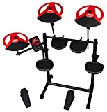 ddrum DDBETA DD Beta 5-Piece Electric Kit, Red