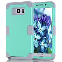 Galaxy Note 5 Case, Asstar [Stand Feature] Hybrid Dual Layer Armor Defender Protective Case Cover for Samsung Galaxy Note 5 (Blue gray)