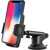 Emmabin Phone Holder for Car Mount Universal Windshield Car Mount Auto Suction Cup Windshield 360 degree Rotation with…