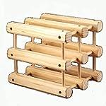 KCHAIN DIY Creative Wood Wine Rack