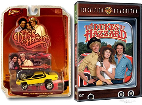 (The Dukes of Hazzard (Television Favorites Compilation) & Daisy Dukes Road Runner Die-Cast Car)