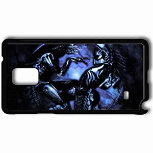 Personalized Samsung Note 4 Cell phone Case/Cover Skin Alien Vs Predator Black by supermalls