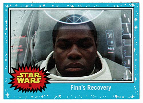 Finn's Recovery - Star Wars Journey to The Last Jedi (Trading Card) BLUE # 96 - Topps 2017 Mint