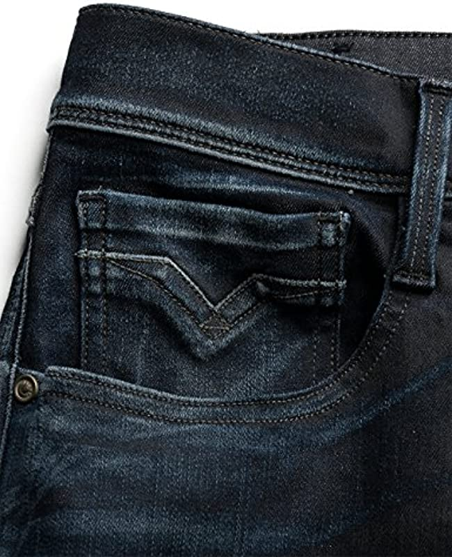 Replay Anbass Slim dżinsy męskie: Odzież